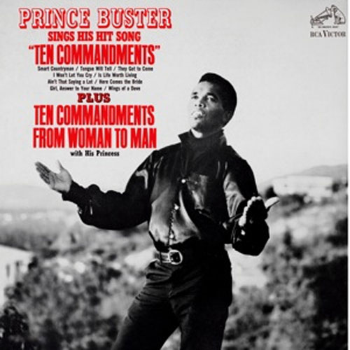 "Prince Buster - Sings His Hit Song ""Ten Commandments"""