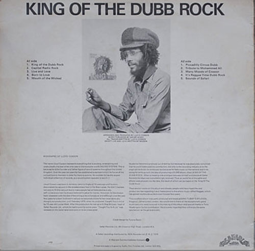 Sir Coxsone - King Of The Dub Rock