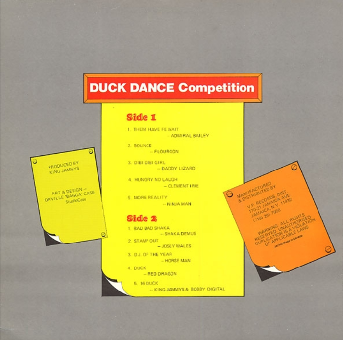 Duck Dance Competition - Various Artists [1988]