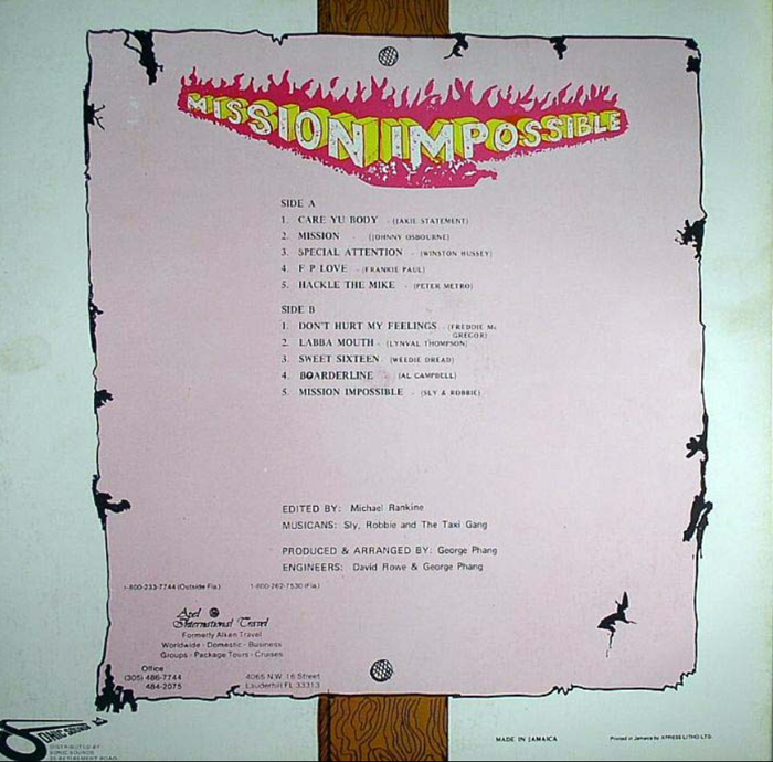 Mission Impossible - Various Artists [1984]
