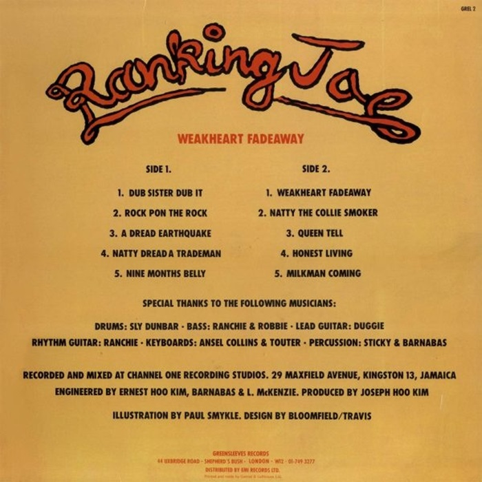 Ranking Joe - Weakheart Fadeaway [1978]