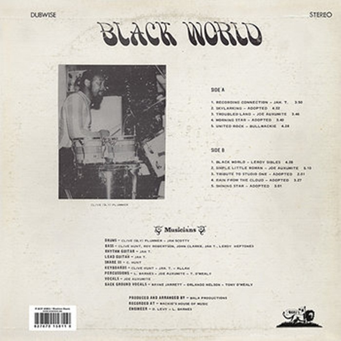 Bullwackies All Stars - Black World Dub [1979]