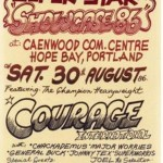 Sassafras Courage dancehall poster