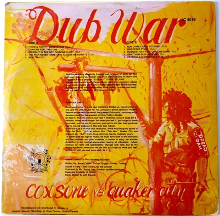 Dub War Coxsone VS Quaker City [1981]